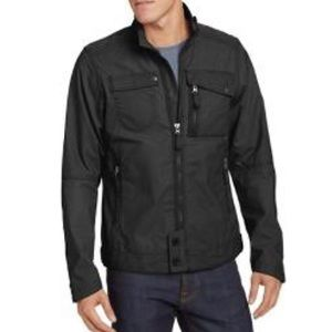 NAU Mens RIFT Jacket Casual Waxed Cotton L